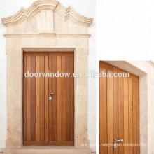 Super September Purchasing 2018 Two Sash Teak Wood Entrance Door Custom Wooden House Door