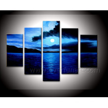 Modern Home Decor Seascape Oil Painting on Canvas (SE-182)