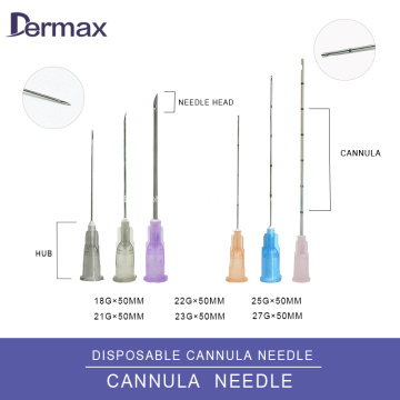 Injection Microcannula for Injectable Hyaluronic Acid