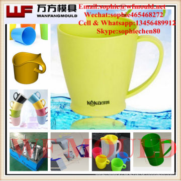 cup plastic injection molding/China supply quality products cup plastic injection mould