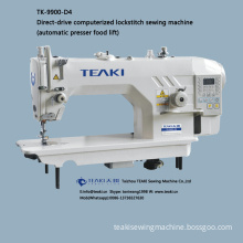 TK-9900-D4 direct-drive computerized lockstitch sewing machine (automatic presser food lift)