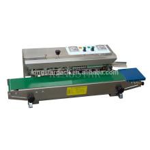 Máquina de selagem de bolsa de aço inoxidável com tinta sólida DBF1000P