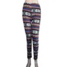 Custom 98% polyester 2% spandex lady's leggings