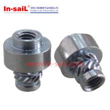 Núcleos de alumínio com inserção roscada moleira