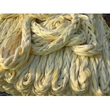 Corde de mouillage de corde de polyéthylène de poids moléculaire ultra élevé