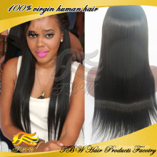 Top Grade 100% Human Virgin Cheap Indian Remy Full Lace Wigs
