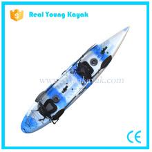 La alta calidad del asiento doble se sienta en el Kayak plástico superior de la pesca para la venta
