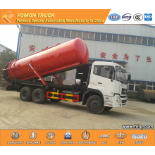 Dongfeng 6×4 Vacuum suction tanker truck 20000L
