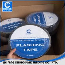 1.2mm self adhesive bitumen sealing tape/flashing tape for roofing