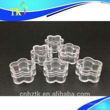 Tarro de plástico 4g para tarros de crema cosmética