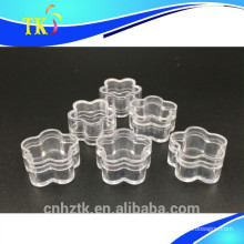 4g plastic jar for cosmetic cream jars