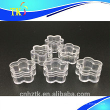 Frasco de plástico 4g para frascos de creme cosmético