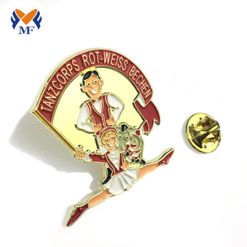 Danser revers pin badge custuom voor geschenken