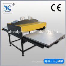 Hydraulic large format sublimation heat press machine direct to fabric garment transfer printer