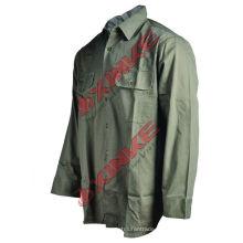 Xinxiang Xinke 100% coton chemise uniforme Xinxiang Xinke 100% coton chemise uniforme
