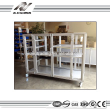 Standard and custom aluminum framing material