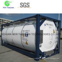 Conteneur de réservoir cryogénique pour contenants portatifs liquides