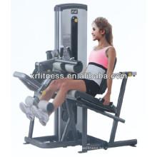 Equipo de gimnasio comercial máquina de pantorrillas de pie múltiples Extensión de pierna
