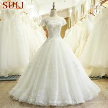 Сл-433 для новобрачных свадебное платье платье Алибаба платья vestidos де noiva
