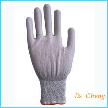 Рабочая губная перчатка с покрытием из нитрила