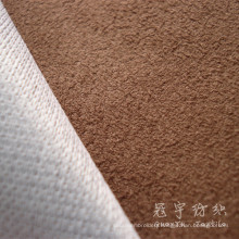 Home Textile Polyester Suede Sofa Fabric