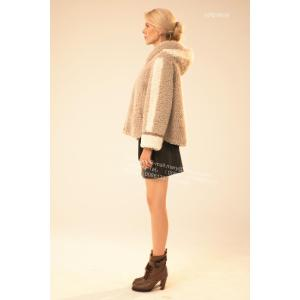 Korte winter dames merino shearling jas