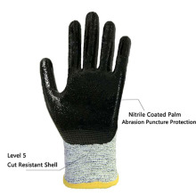 TPR hign impact gloves for Roughneck Anti-Vibration