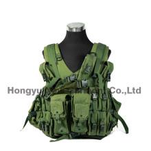 Tactical Gear Combat Soft Safety Military Vest Camo numérique (HY-V051)