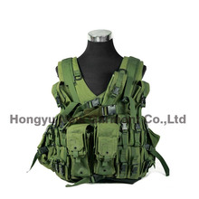 Tactical Gear Combat Soft Safety Military Vest Digital Camo (HY-V051)