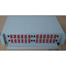 El ODU de tipo pull-out de 2u para 48 puertos