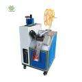 Ultrasonic cutting machine for V shape/round shape