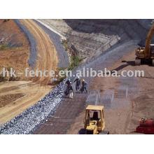 1 gabion/stone cage/rockfall fence/mat/mattress