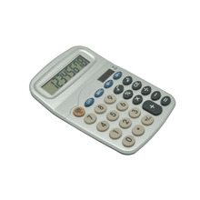 Silver Semi Office Calculator