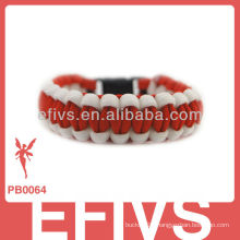 Outdoor sporting paracord bracelet supplies