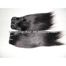 Chaude Beyonce double extensions de cheveux tirés, fabricant Qingdao