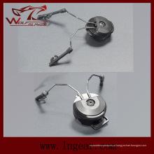 Comtac tático eu / II arco adaptador capacete ferroviário suspensão C1, C2 suporte de fone de ouvido