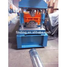 China machen Edelstahl Ridge GAP Maschine/Metall Stahl Überdachung Ridge Kappe Preis Maschine
