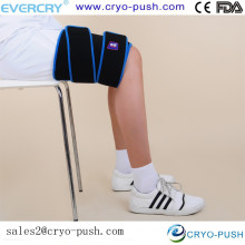 Terapia de calor y frío grande Ultimate Performance Wrap para piernas y muslos con paquetes reutilizables Compresión manos libres