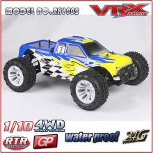1 10 escala 4WD alta velocidad RC coche
