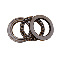 Industrial 20X70X62 mm Rodamiento de bolas de empuje 52406 Dimensiones Tolerancias Desalineación