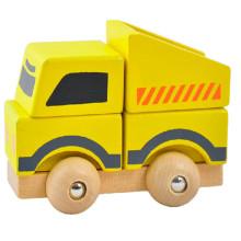 FQ marca al por mayor niños educativos arte modelo juguete coche de madera