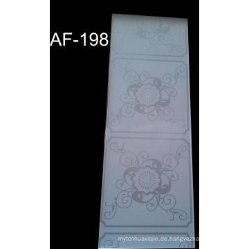 Aus weißem PVC-Wandpaneel