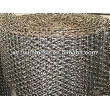 Convoyeur en treillis métallique en acier inoxydable à haute température (usine de hengqu)