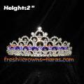 2inch Wholesale Rhinestone Crowns