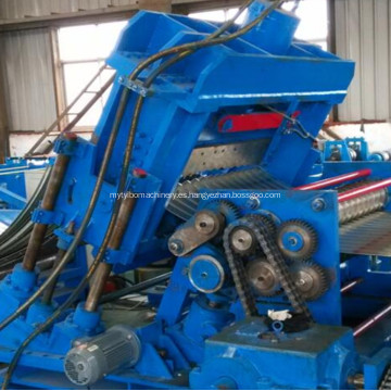 Máquina perfiladora y dobladora de depósitos de agua de silos metálicos.