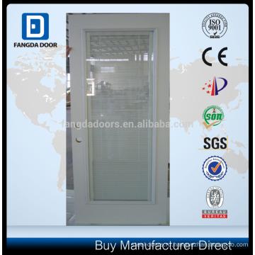 Стальные двери стекло,стеклянные двери со встроенным в слепую
