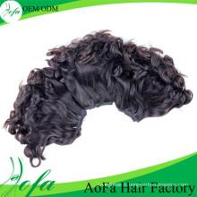 Extension de cheveux humains Remy en gros de cheveux vierges de la catégorie 7A