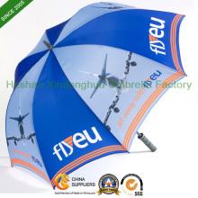 Plein d'impression automatique de fibre de verre parapluie de Golf avec Logo personnalisé (GED-0027FAC)