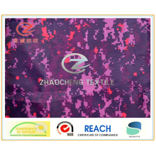150d Ribstop Poly Oxford Digital Printing Fabric with PVC Coated (ZCBP133)