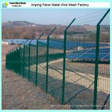 Grating Bending 3D Soldado Jardim Boundary Wire Mesh Fence
